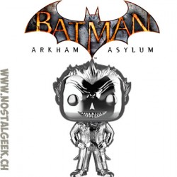 Funko Pop Games Batman Arkham Asylum The Joker Silver Chrome Edition Limitée