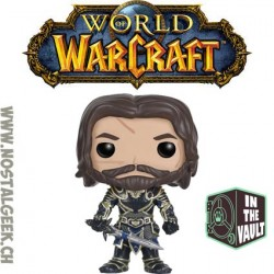 Funko Pop! Films Warcraft Lothar Vaulted Vinyl Figure