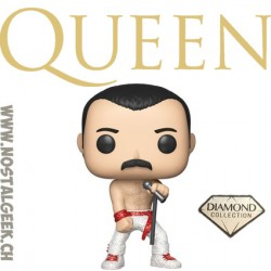 Funko Pop Rocks Queen Freddie Mercury (Wembley 1986) Vinyl Figure