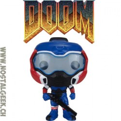 Funko Pop Games Doom Space Marine (American Hero) Edition Limitée