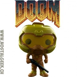 Funko Pop Games Doom Space Marine (Gold) Edition Limitée