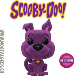 Funko Pop! Animation Scooby-Doo (Flocked) (Purple) Exclusive Vinyl Figure