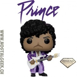 Funko Pop Rocks Prince (Glitter) (Purple Rain) Edition Limitée