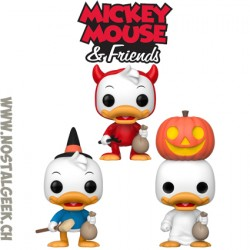 Bundle Funko Pop Disney Huey + Dewey + Louie (Trick-or-Treat) Edition Limitée