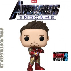 Funko Pop NYCC 2019 Marvel Avengers Endgame Iron Man (Gauntlet) Exclusive Vinyl Figure