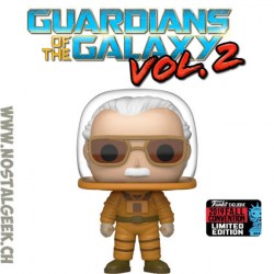 Funko Pop NYCC 2019 Marvel Guardians of the Galaxy Stan Lee (Astronaut) Exclusive Vinyl Figure