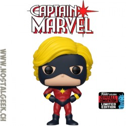 Funko Pop NYCC 2019 Marvel Captain Marvel (Mar-Vell) (First Appearance) Edition Limitée