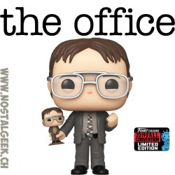 Funko Pop NYCC 2019 The Office Dwight Schrute (w/ Bobblehead) Edition Limitée
