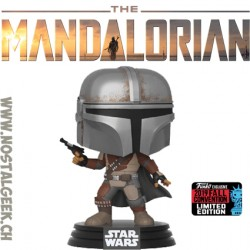 Funko Pop NYCC 2019 Star Wars The Mandalorian (Pistol) Edition Limitée