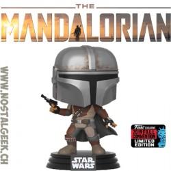 Funko Pop NYCC 2019 Star Wars The Mandalorian (Pistol) Exclusive Vinyl Figure