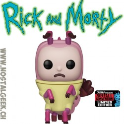 Funko Pop NYCC 2019 Rick and Morty Shrimp Rick Exclusive Vinyl Figure