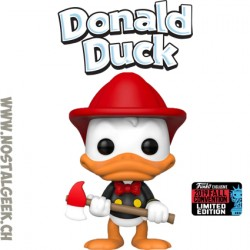 Funko Pop NYCC 2019 Disney Donald Duck (Firefighter)