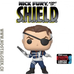 Funko Pop NYCC 2019 Nick Fury (First Appearance) Edition Limitée