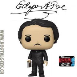 Funko Pop NYCC 2019 Edgar Allan Poe (w/ Book) Exclusive Vinyl Figure