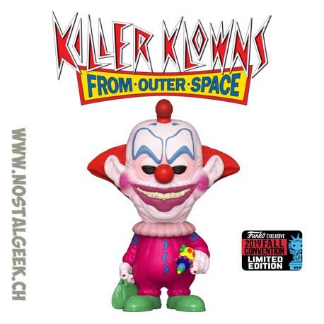 Funko Pop NYCC 2019 Killer Clown From Outer Space Slim Exclusive Vinyl Figure