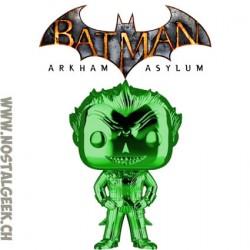 Funko Pop Games Batman Arkham Asylum The Joker Silver Chrome Vinyl Figure