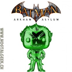 Funko Pop Games Batman Arkham Asylum The Joker Silver Chrome Vinyl Figure