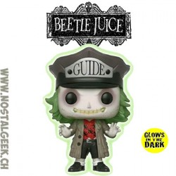Funko Pop Movie Beetlejuice (Guide Hat) Vinyl Figure
