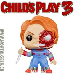 Funko Pop Child's Play 3 Chucky Battle Damaged Exclusive Vinyl Figure