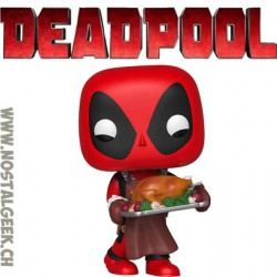 Funko Pop Marvel Deadpool (Supper Hero) Vinyl Figure