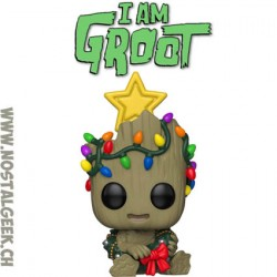 Funko Pop Marvel Holiday Groot Vinyl Figure
