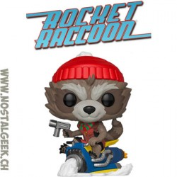 Funko Pop Marvel Thanos Holiday Rocket Raccoon