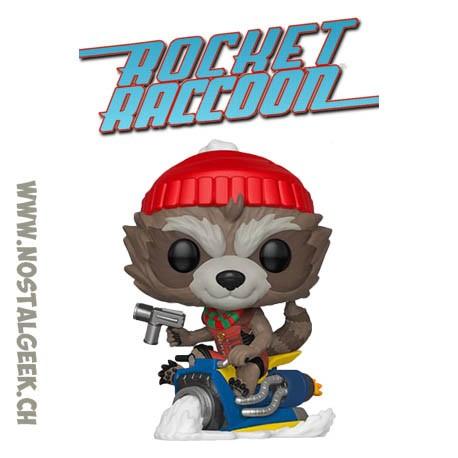 Funko Pop Marvel Thanos Holiday Rocket Raccoon Vinyl Figure