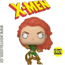 Funko Pop Marvel X-Men Dark Phoenix (Action Pose) Phosphorescent Edition Limitée