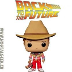 Funko Pop! Film Retour vers le futur Marty McFly (Cowboy) Edition Limitée