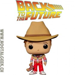 Funko Pop! Movie Back to the Future Marty McFly (Cowboy) Exclusive Vinyl Figure
