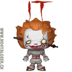 Funko Pop! Movie IT Chapter 2 Pennywise (Gripsou) with Blade Edition Limitée