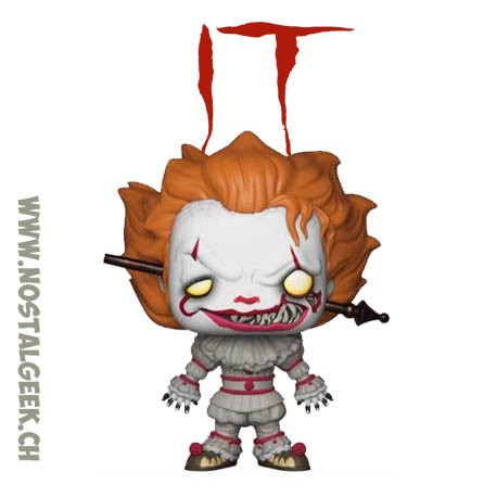 Funko Pop! Movie IT Pennywise (Gripsou) with Blade Exclusive Vinyl Figure