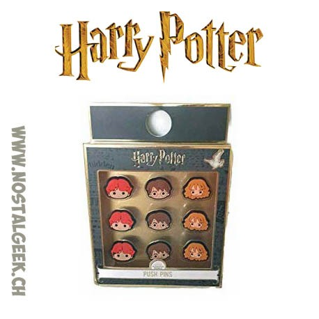Harry Potter Set of 9 Push pins