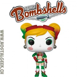 Funko Pop! DC Bombshells Harley Quinn Holiday (Festive) Exclusive Vinyl Figure