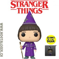 Funko Pop TV Stranger Things Will the Wise GITD Exclusive Vinyl Figure