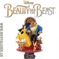 Disney D-Select Belle et la Bête Diorama Beast Kingdom