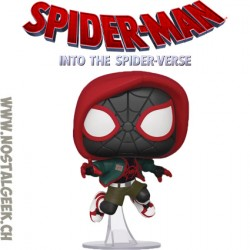 Funko Pop! Marvel Spider-Man Into the Spiderverse Miles Morales (Casual) Edition Limitée