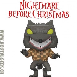 Funko Pop! Disney Nightmare before christmas Wolfman Exclusive Vinyl Figure