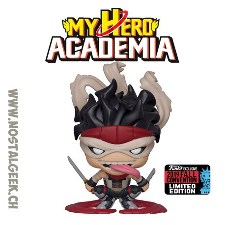 Funko Pop NYCC 2019 My Hero Academia Hero Killer Stain Exclusive Vinyl Figure