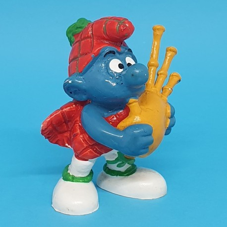 The Smurfs Scottish Smurf potions second hand Figure.