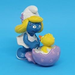 Schtroumpf - Schtroumpfette avec poussin Figurine d'occasion