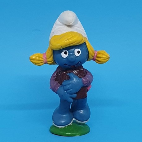 The Smurfs - Student Smurfette second hand Figure.