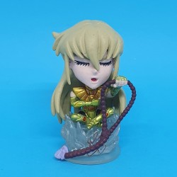 Saint Seiya Shaka The Virgo Saint second hand Chibi Figure Mini Big Head (Loose)