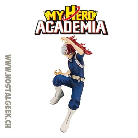 Banpresto My Hero Academia Shoto Todoroki The Amazing Heroes Vol. 2 Figure