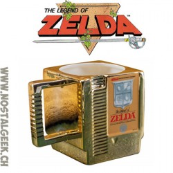 The Legend Of Zelda Golden Cartridge 3d Mug