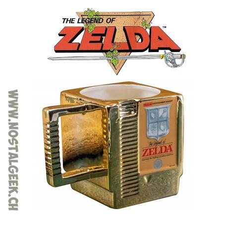 The Legend Of Zelda Golden Cartridge 3d Mug