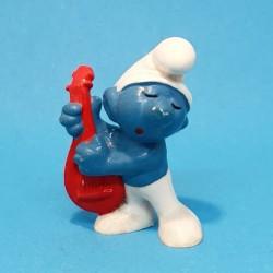 The Smurfs Smurf mandolin second hand Figure.