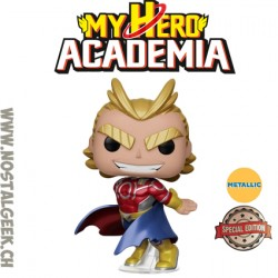 Funko Pop! Anime My Hero Academia Silver Age All Might (Metallic) Edition Limitée