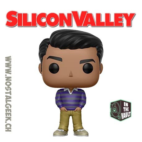 Funko Pop Television Silicon Valley Dinesh Vaulted Vinyl Figure