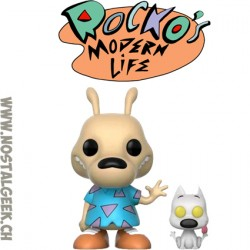 Funko Pop Animation Rocko's Modern Life Rocko with Spunky Vinyl Figure